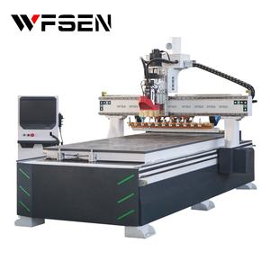 China MDF wood door cabinet making woodworking 1325 router CNC router machine