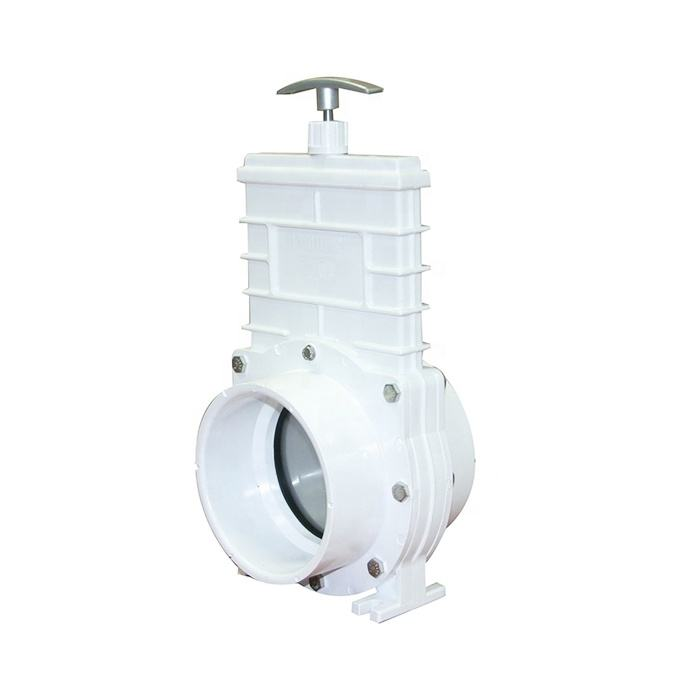 40-160mm DIN Plastic PVC Knife Water Slide Gate Valve