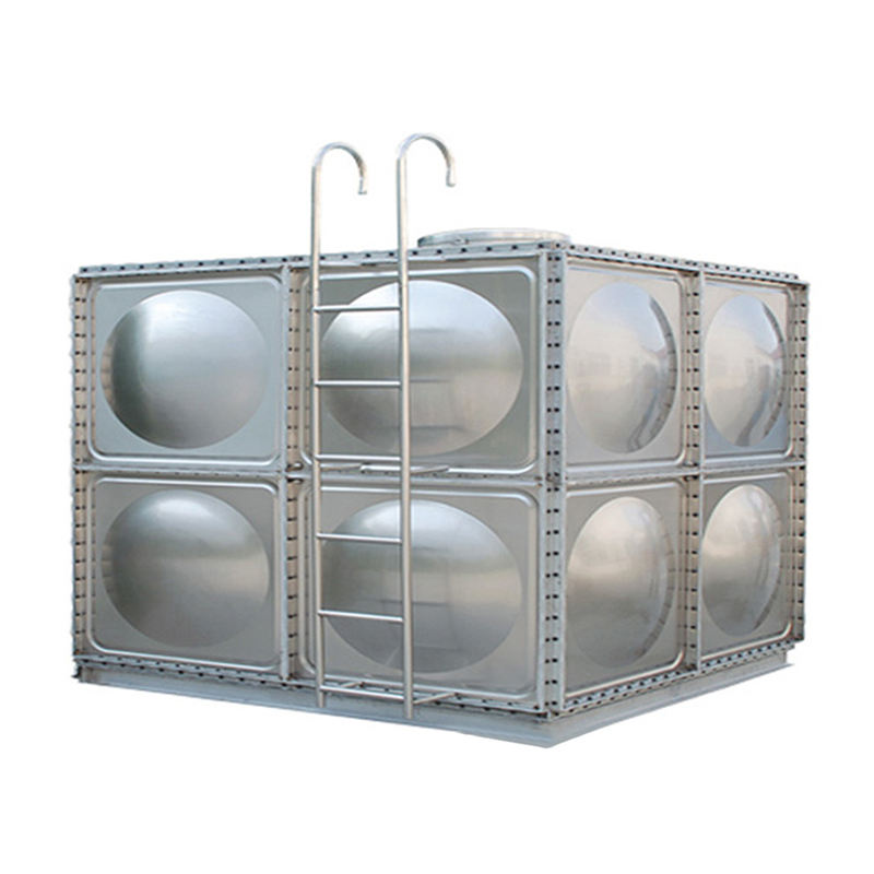 Stainless Steel Hot Water Square Module Storage Tank
