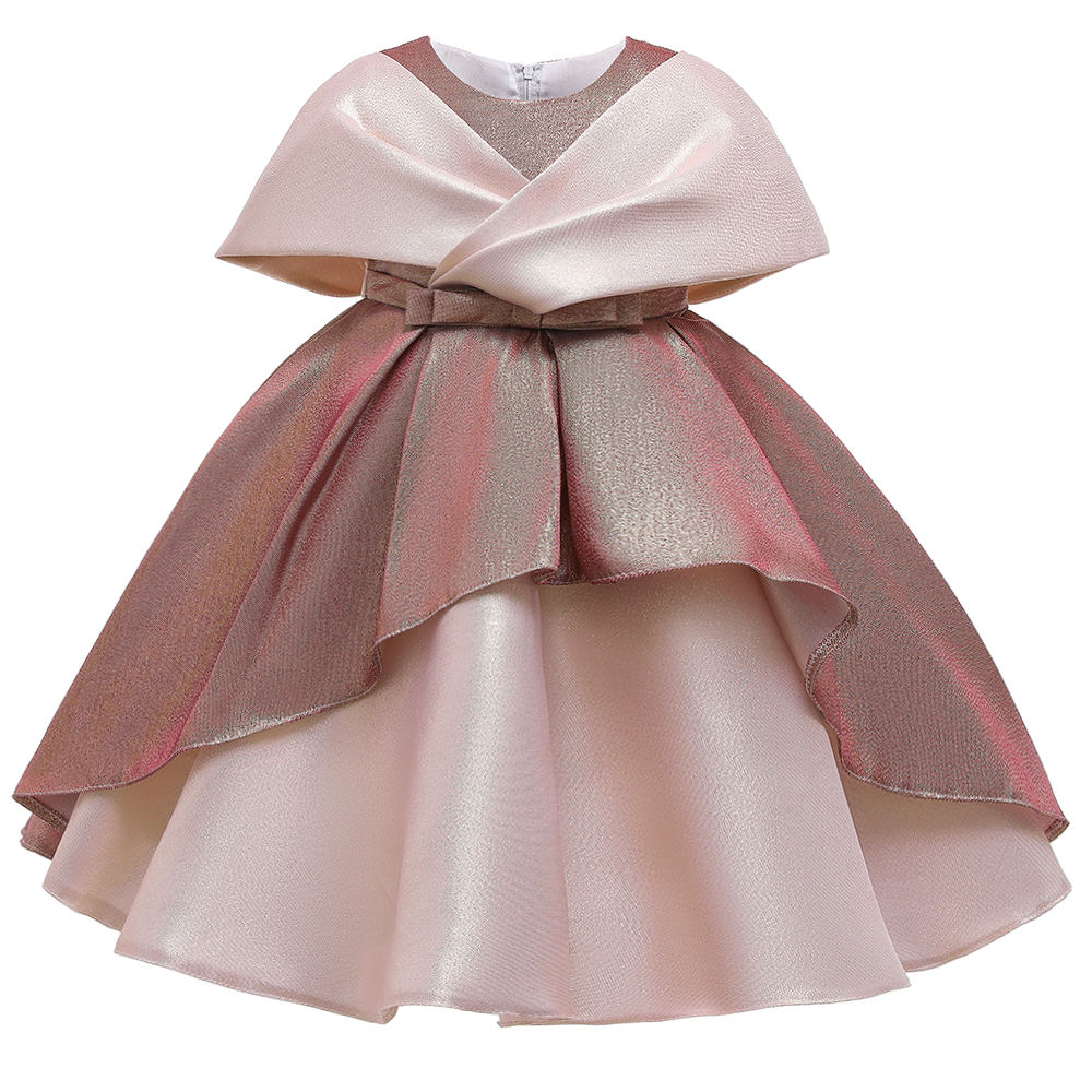 Meiqiai Garment Girls Party Dress New Arrival Baby Frock Design Princess Evening Ball Gown L5185