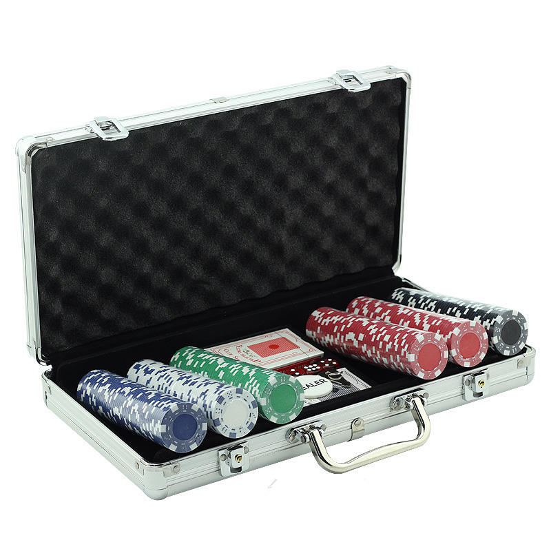 40 x 3.3mm custom set kits poker chips for casino