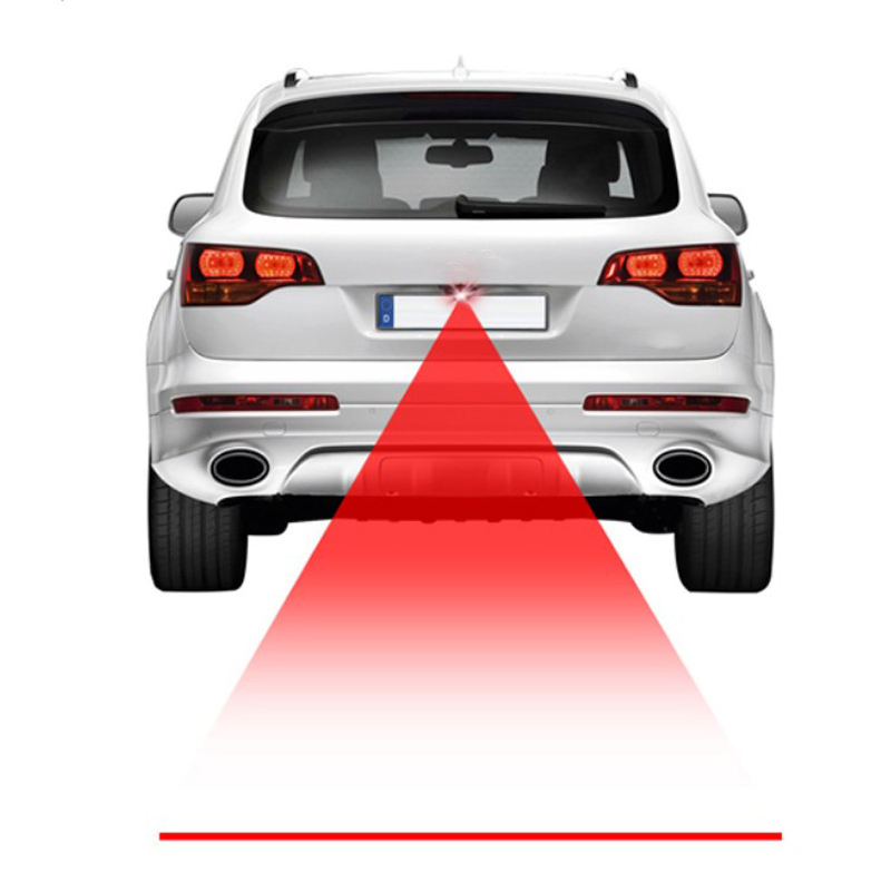 car exterior Modification accessories tail brake fog lights 3d projector spot laser lighting