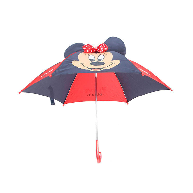 Famous brand authorization certified safety children umbrella with ears for kids