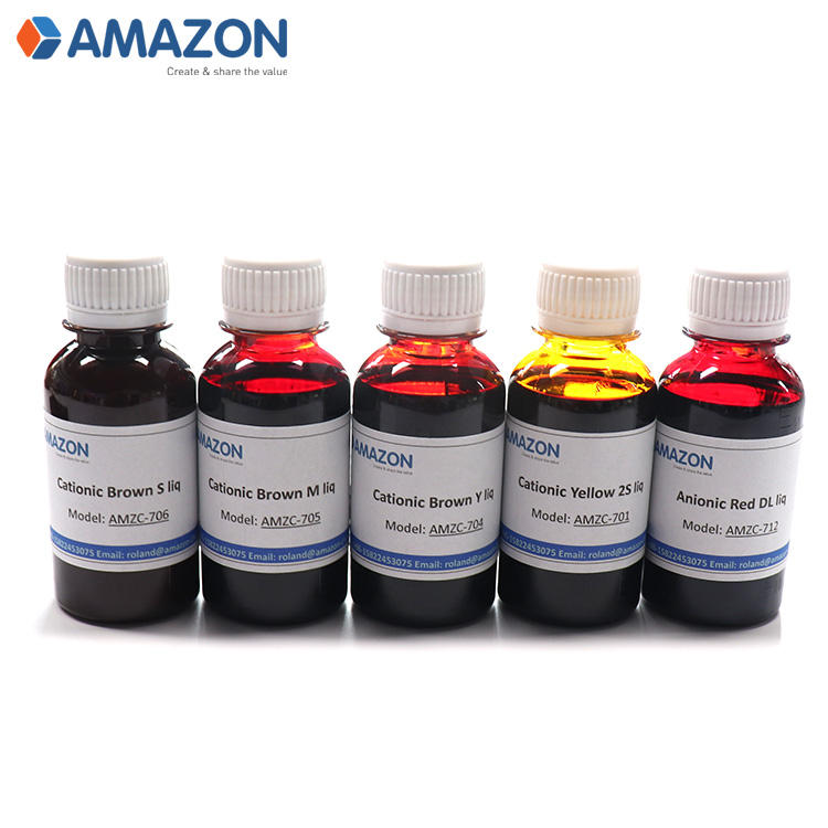 100% cationic red CL liquid dye for paper liquid dyestuffs papermaking dye paper dye