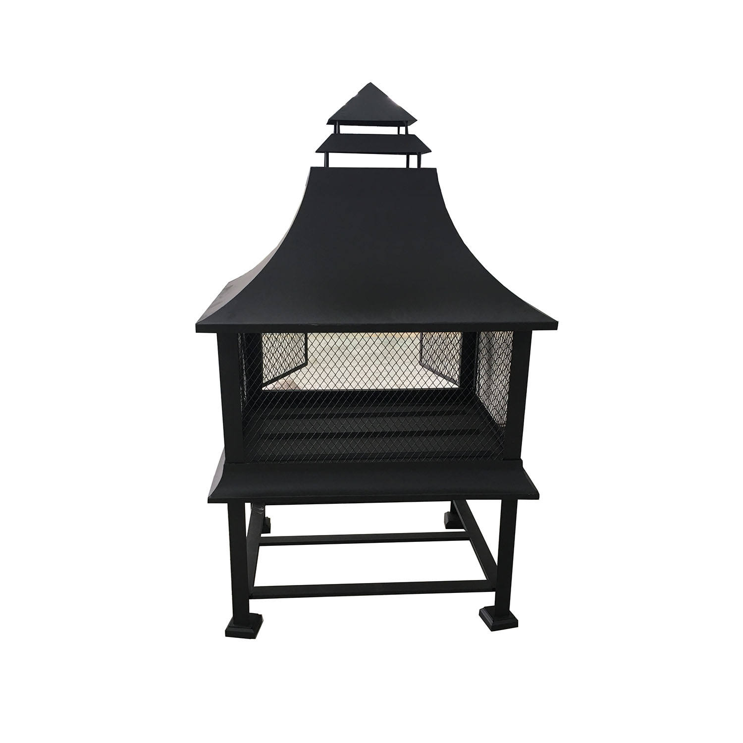 Hot Sell Outdoor Fire Pit with Chimney
