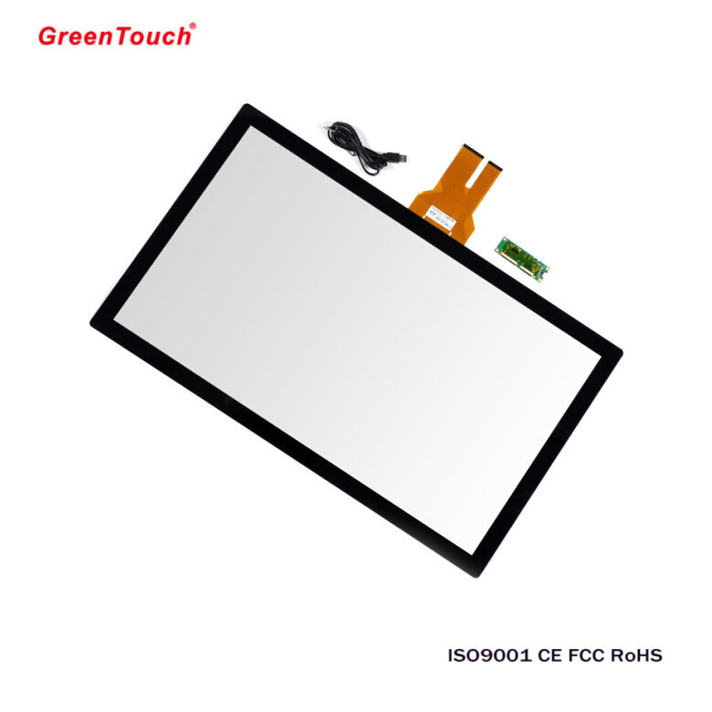 GT-CTP-Y23.0A-1 PCAP capacitive touch screen glass touch sensitive glass for Intelligent Terminal