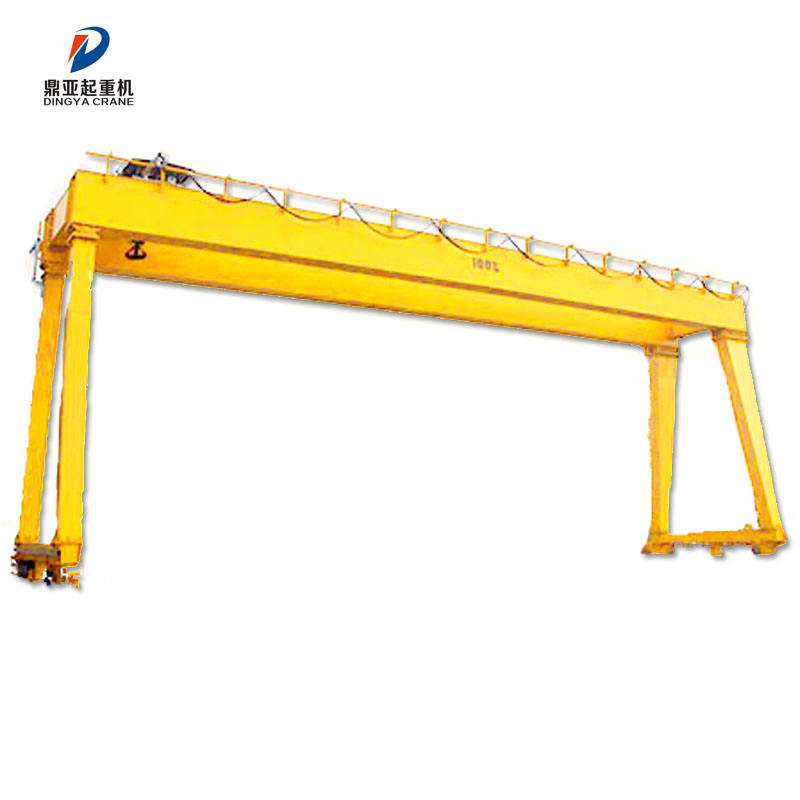 China supplier widely used double girder mobile gantry crane 120 ton crane