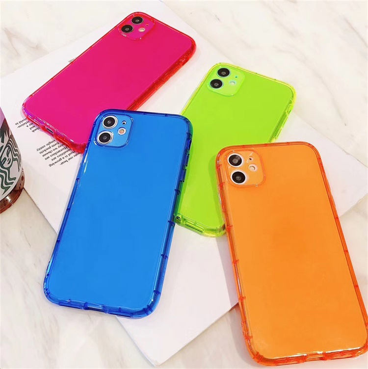 2020 Amazon new product mobile phone case colorful tpu cellphone case for iPhone 12, 11 case