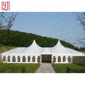 White Clear Overspanning 1500m2 Bruiloft Feesttent Party Tent