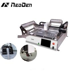 Neoden SMD pick and place machine robotics engineering NeoDen3V with Vision 2 Heads led bulb assembly machine