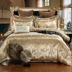 Amazon Hot Sale European Style Jacquard Bedding 3pcs Sheet S