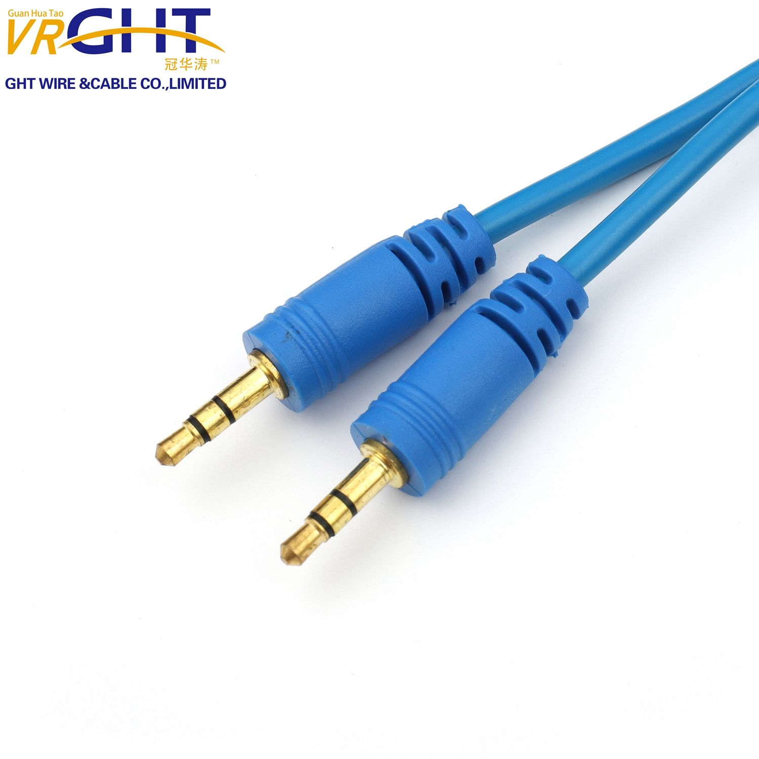 3.5mm Stereo Car Auxiliary Audio Cable Male To Male for Smart Phone aux 3.5mm male audio Cable
