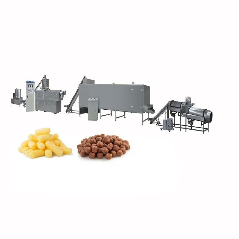 Iran Chips Corn Snacks Extrudeuse Project Verwerking Apparatuur