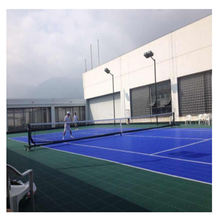 FIBA certificate basketball court tiles Portable pp interlocking flooring mat