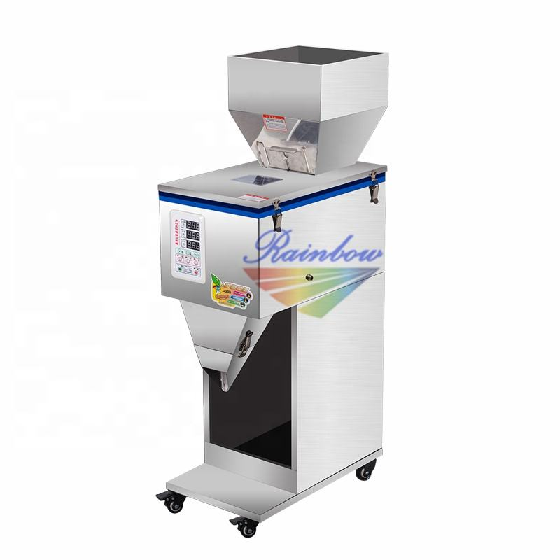 Semi Automatic Granule/Rice/Coffee Weighing Filling Machine