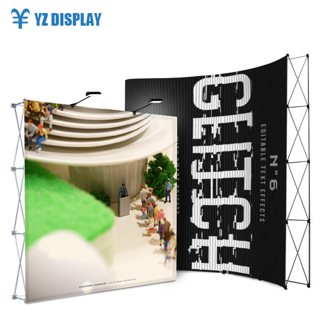 High Quality Floor Standing Display Pop Up Wall Banner Stand