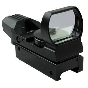 Holographic 4 Reticle Red/Green Dot Tactical Reflex Sight Scope with Mount for Gun 33mm
