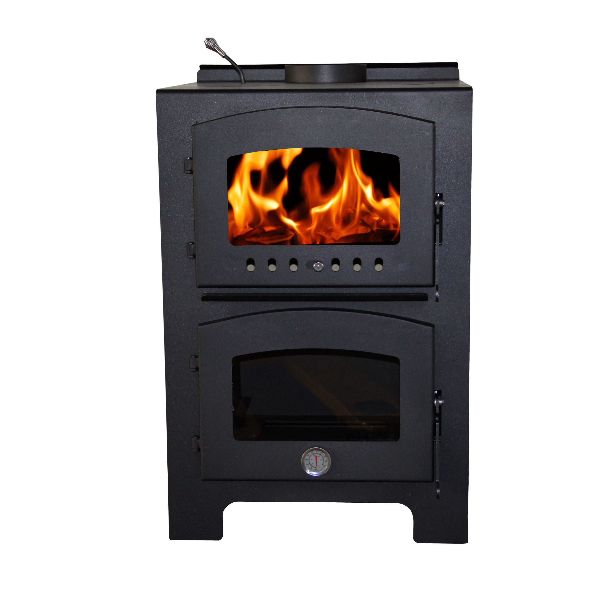 Australia wood burning stove cooking stove wood stove with oven WM203-1100