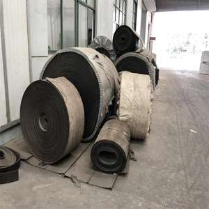 Rubber conveyor belt scrap