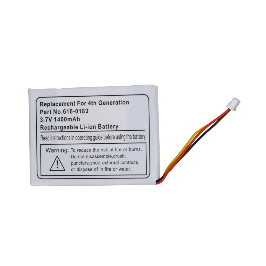3.7V 750mAh Li-ion Replacement Battery for 616-0183 ipod nano 4th generation