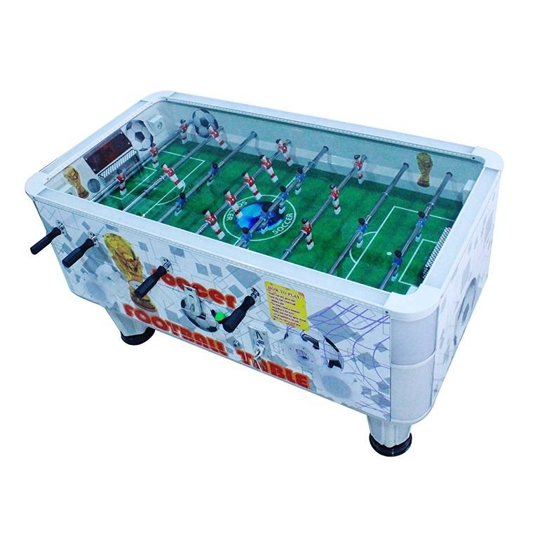 2 players automatic soccer sports football table coin operated ticket reddemption arcade game