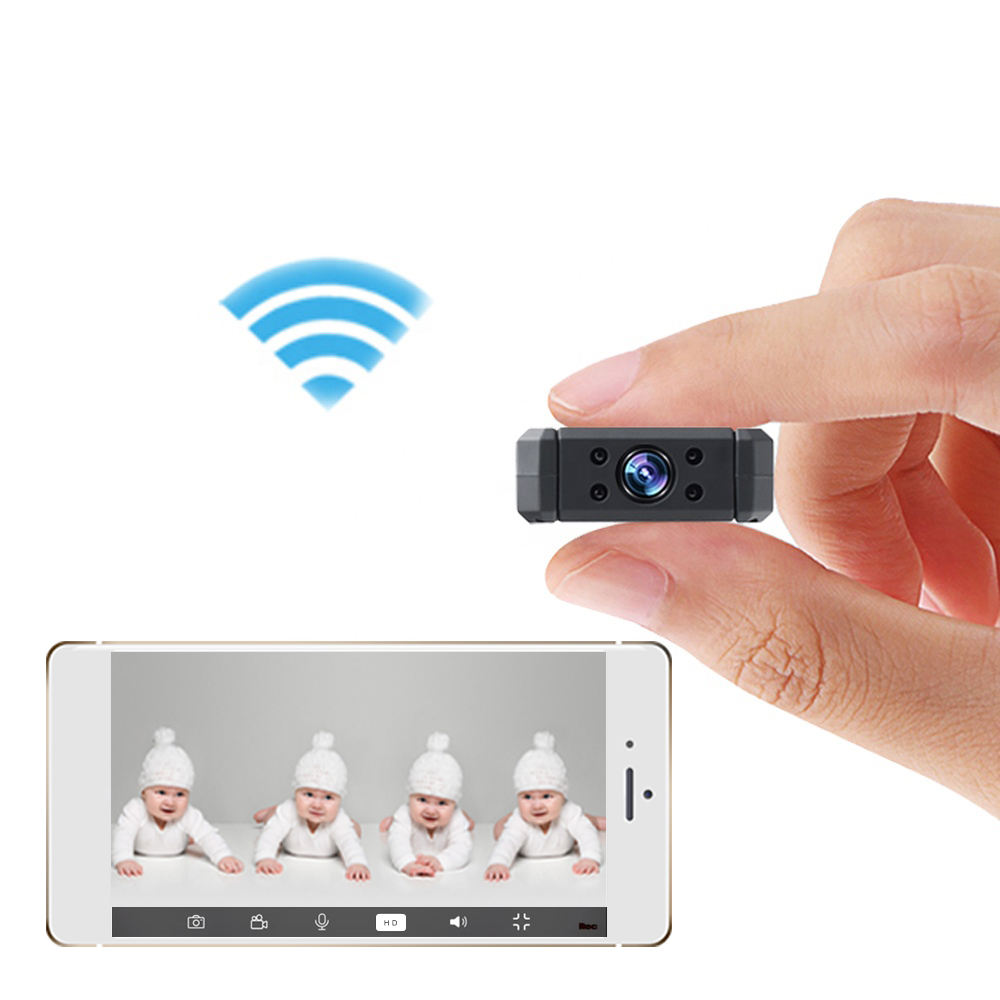 MD90 Wifi micro camera IP HD camcorder Night Vision Mini DVR Bike IP APP Motion Detection Cam 170 D mini video camera