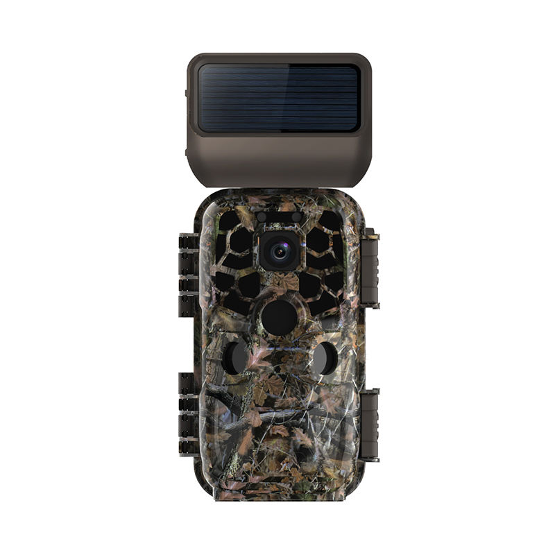 Newest HDKing JDL-702 4K Wifi Thermal Hunting Trail Camera With Solar Panel Remote Control