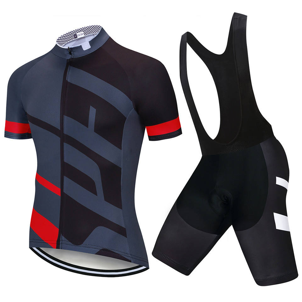 Bike Shirts Cycling Jersey clothes two piece sets short jersey B I B shorts for men