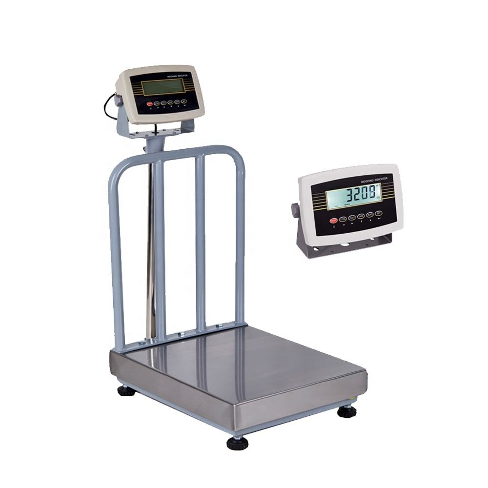 100kg 500kg 1000kg Digital Weight Weigh Electronic Weighing Scales with Handle and Wheel