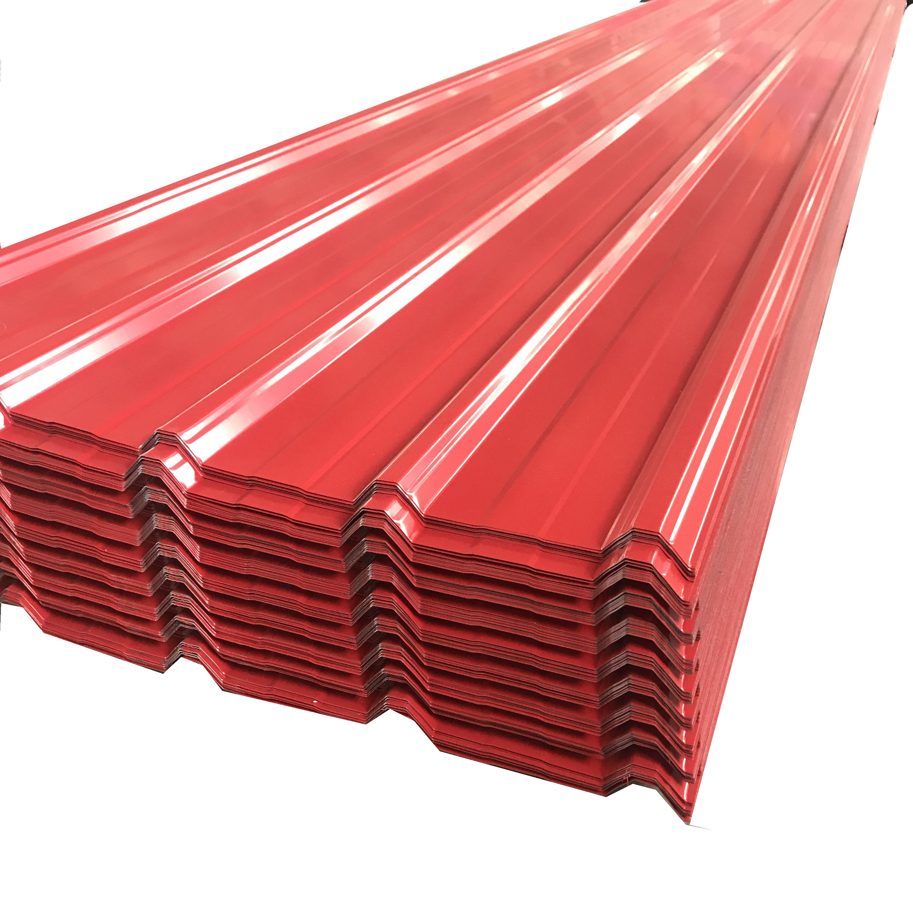 PPGI roofing steel sheets color coated galvanized corrugated corrugated zinc 30-275gsm Long span color steel corrugated