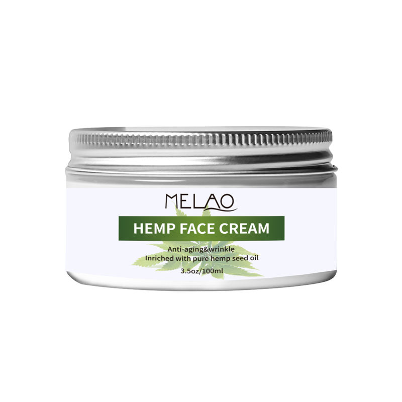 MELAO Small MOQ OEM/OEM Private Label Indian Hemp Hair Body Pain Relief Cream 100g
