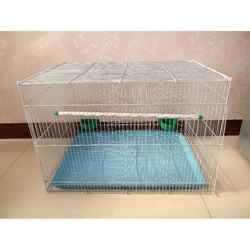 Factory price foldable small pet parrots bird cages metal wire materials bird cage