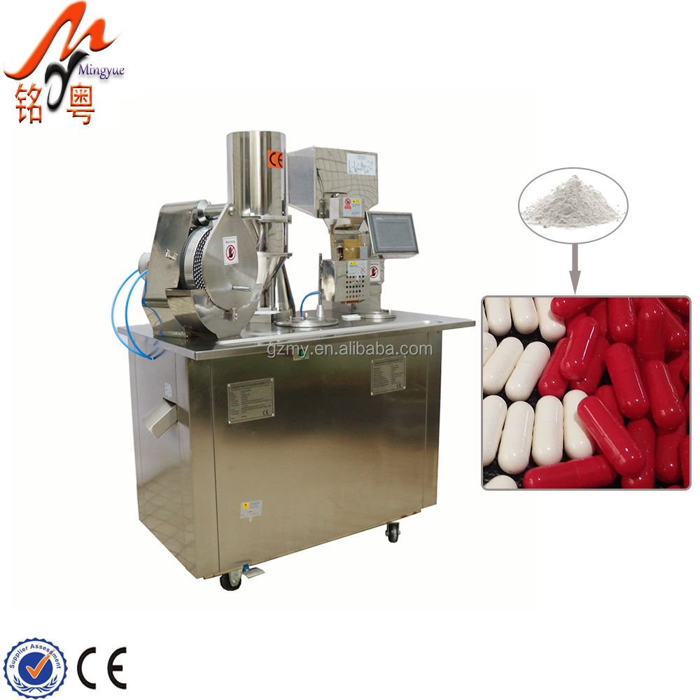 Fully Automatic Hard Soft Gel Capsule Herb Powder Filling Machine