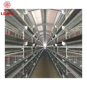 High quality poultry equipment H type chicken broiler cage