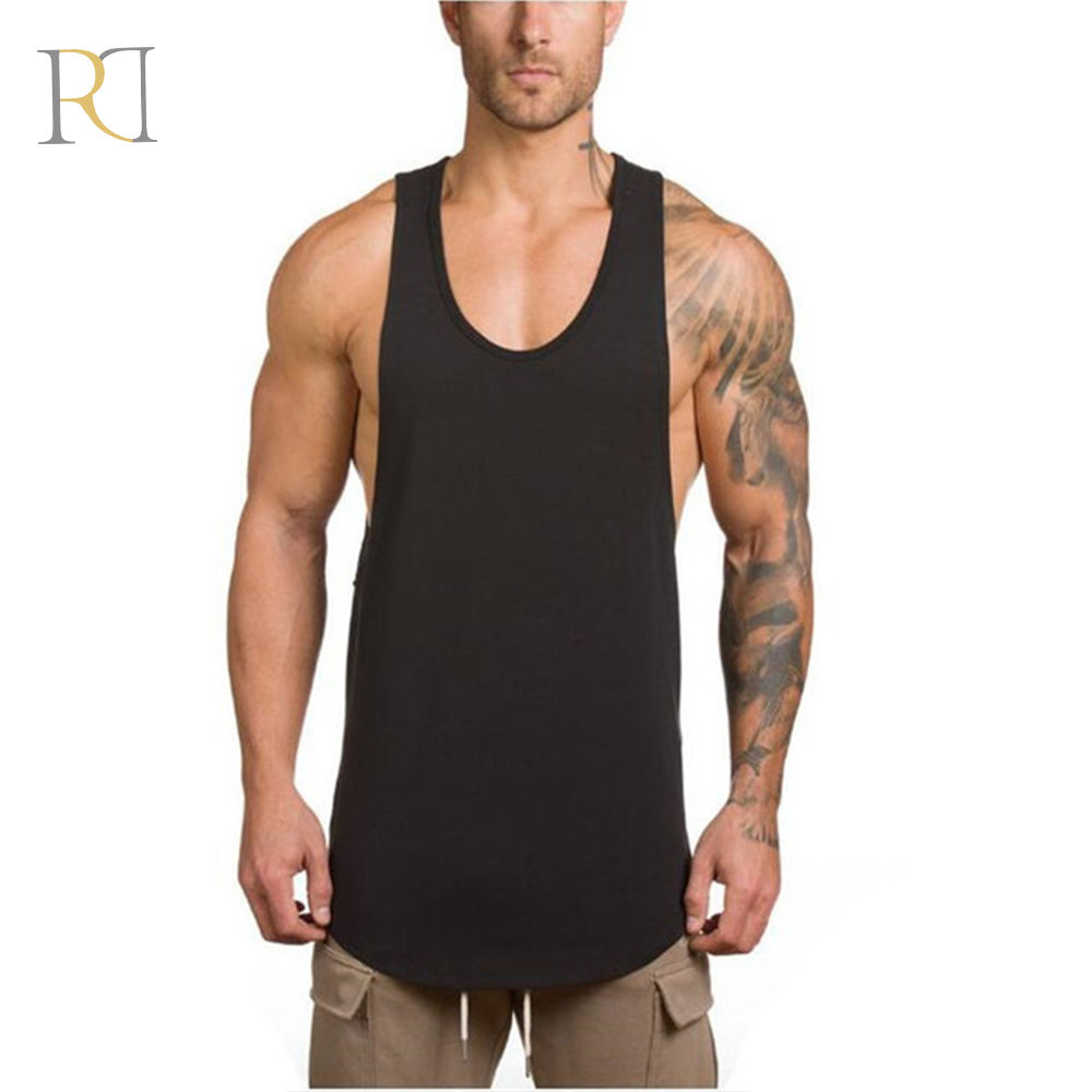 Sommer nach private label mens casual heißer tank top mann