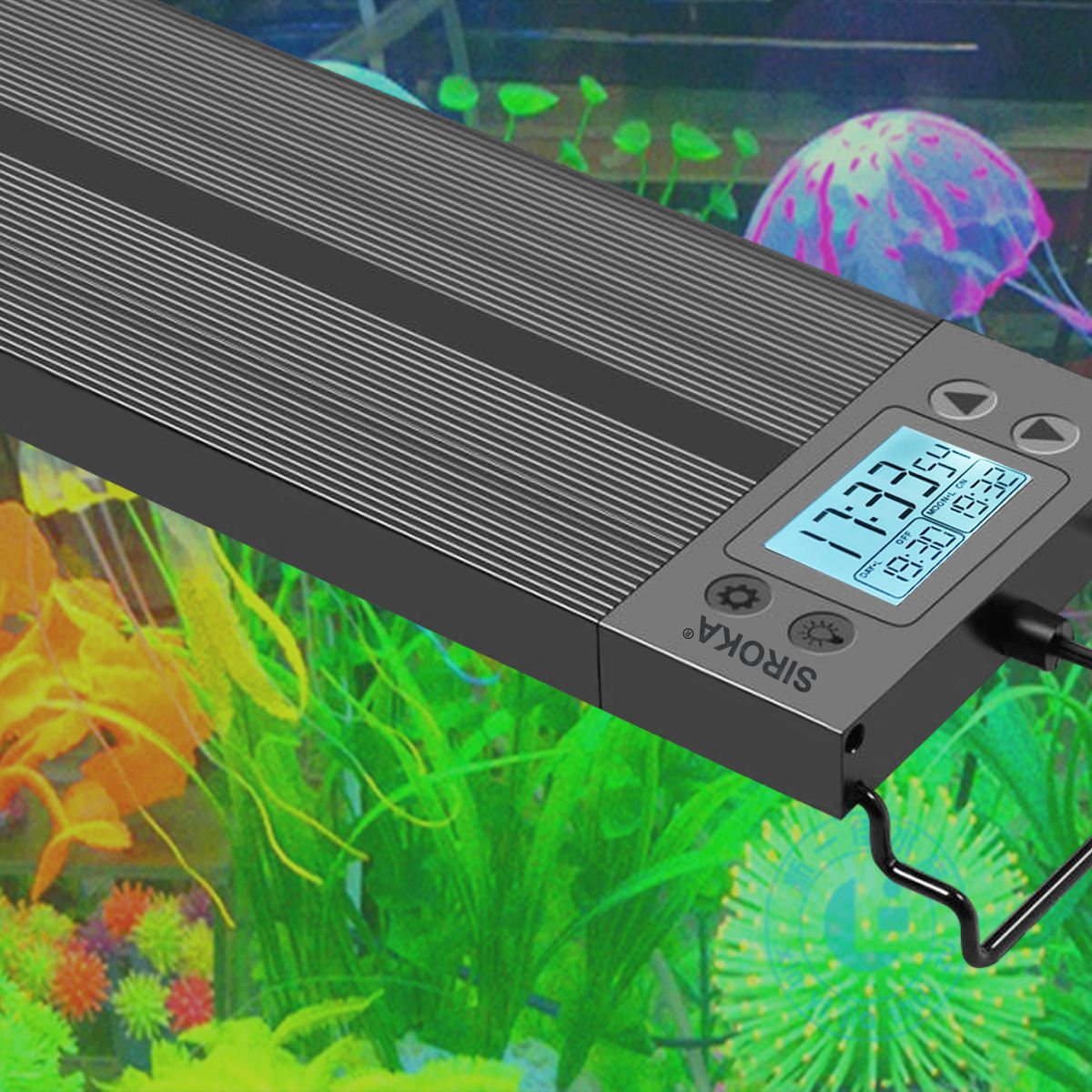 2020 China New Mould 60センチメートルFish Tank Planted Aquarium LED Light Programmable LED Aquarium Marineライトのために水族館