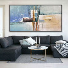 2020 New Design Handmade Modern Hotel Abstract Art Wall Decoration Painting On Canvas
