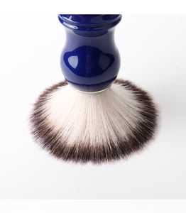 Wholesale High Quality Wooden Handle Shaving Brush False Boar Hair Bristle Beard Brush For Men