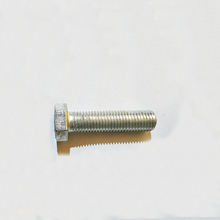 Low price galvanised plastic thumb screw 6mm hex bolt stud blind bolts with nuts56x3x269