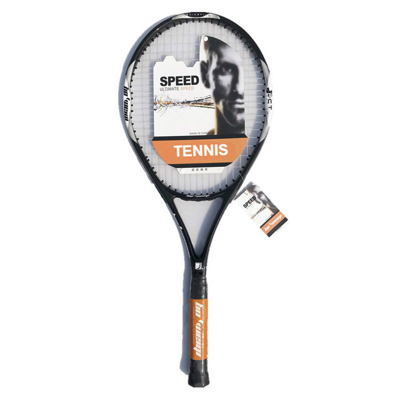 Wholesale customized high quality carbon aluminum one-piece training tennis racket