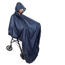 new design lightweight heavy duty safety elderly man handicapped wheelchair rain poncho