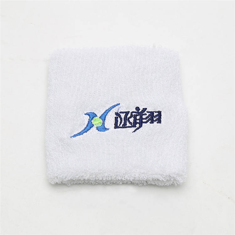 Hot Selling 8 * 8cm Cotton Basketball Volleyball Cotton Sports Wristband