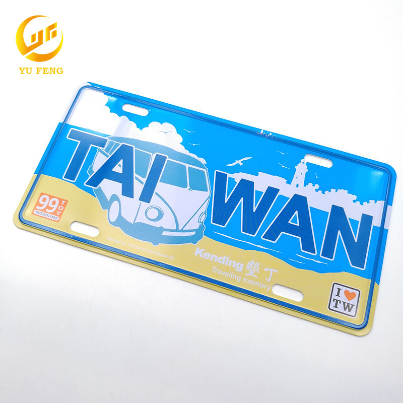 Customized Souvenir Metal Car Emblem/Metal Enamel Pin Badge for souvenir