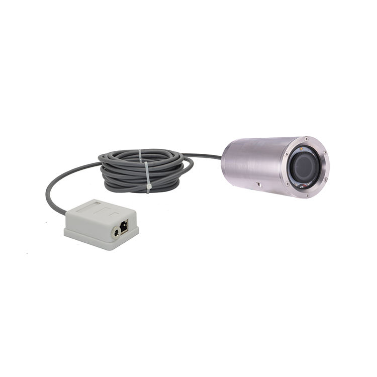 IP68 316L Stainless Steel 8MP 3.6-11mm Electric Zoom Lens Robot Industrial Inspection Camera