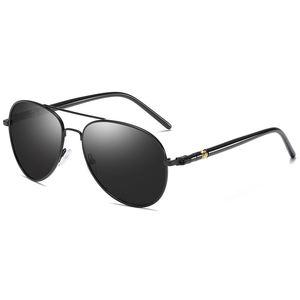 A0375 Superhot Eyewear Black Shades Men's Polarized Sunglasses