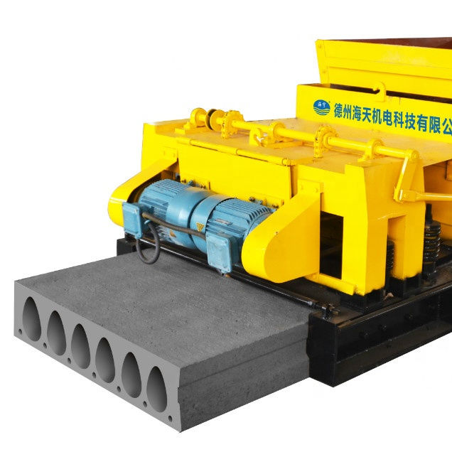 Automatic precast hollow core floor slab/roof slab machine for prefab house for fast building house