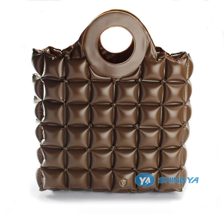 promotional Inflatable waterproof bubble shopping unique handbag (BSCI audit)