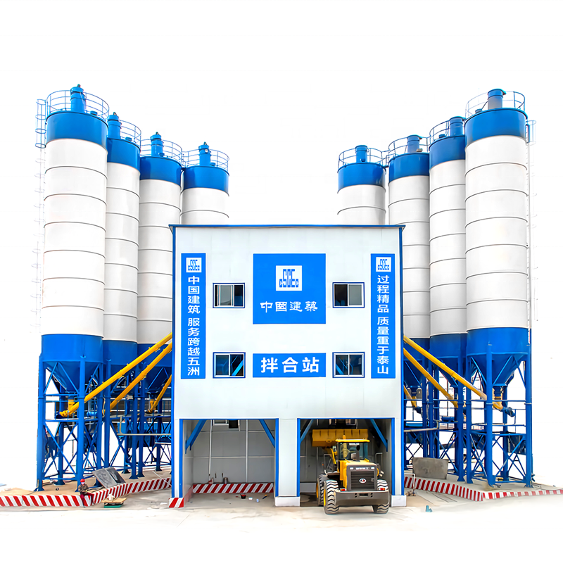 Small and medium-sized cement mixing plant Simple 60 concrete mixing plant