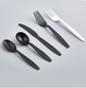 biodegradable pla disposable plastic cutlery set