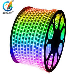 Czinglight Wholesale 8W 220-240V Remote Control SMD5050 Color Change RGB Flexible Light Led Strip
